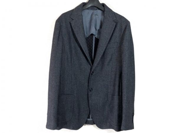 Henry Cotton's(ヘンリーコットンズ) ジャケット サイズ52 メンズ パープル×ネイビー