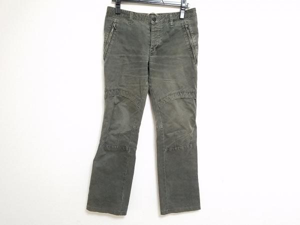 ripvanwinkle(リップヴァンウィンクル) パンツ サイズ3 L メンズ カーキ 裾ジップ