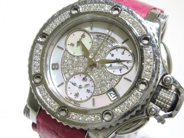 アクアノウティック 腕時計 プリンセスクーダ - レディース ホワイトシェル