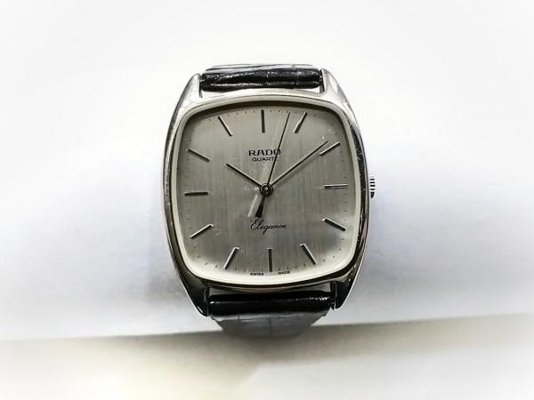 RADO(ラドー) 腕時計 728.5066.4 レディース 型押し革ベルト シルバー