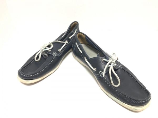 around the shoes(アラウンドザシューズ) スニーカー 42 メンズ 黒 レザー