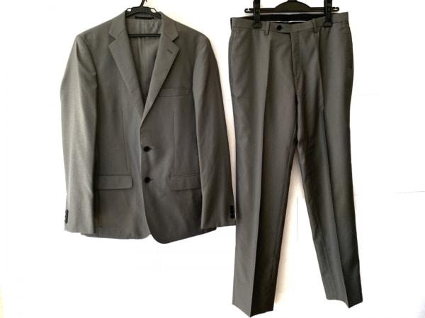EDIFICE(エディフィス) シングルスーツ サイズ48 XL メンズ美品  グレー