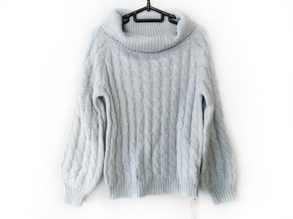 FREE'S MART(フリーズマート) 長袖セーター サイズF レディース美品  ライトブルー