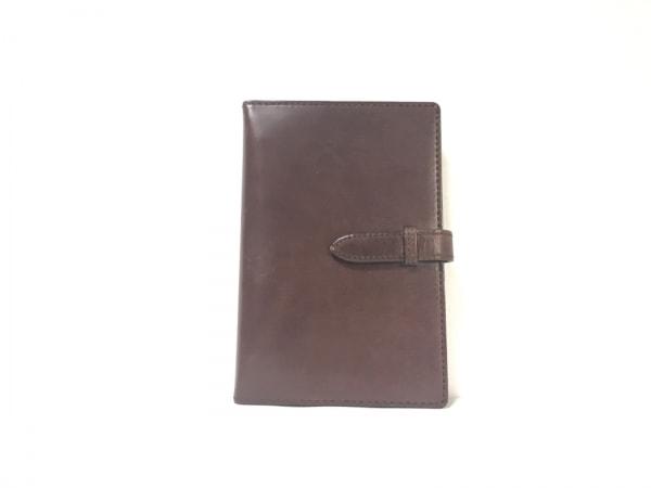 ASHFORD(アシュフォード) 手帳 ダークブラウン レザー