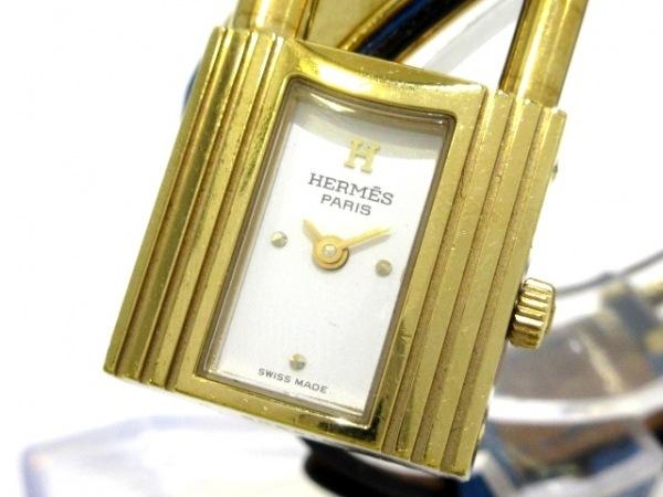 HERMES(エルメス) 腕時計 ケリーウォッチ - レディース 白