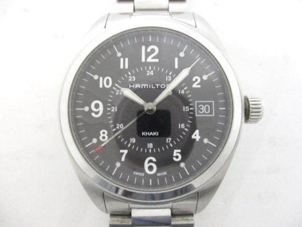 HAMILTON(ハミルトン) 腕時計美品  カーキ フィールド H685510 メンズ 黒