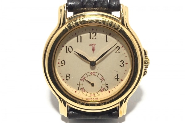TRUSSARDI(トラサルディー) 腕時計 TR-2807 レディース アイボリー
