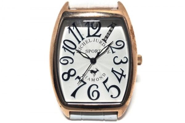 michel Jurdain(ミッシェルジョルダン) 腕時計 SG-1100A レディース 白