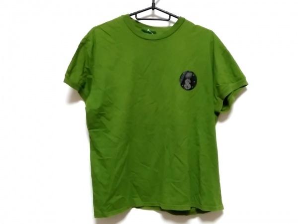 JUNIOR GAULTIER(ゴルチエ) 半袖Tシャツ サイズL レディース グリーン