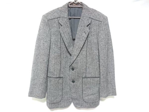 ARAMIS(アラミス) コート サイズS46-24 レディース 黒×白 冬物/肩パッド