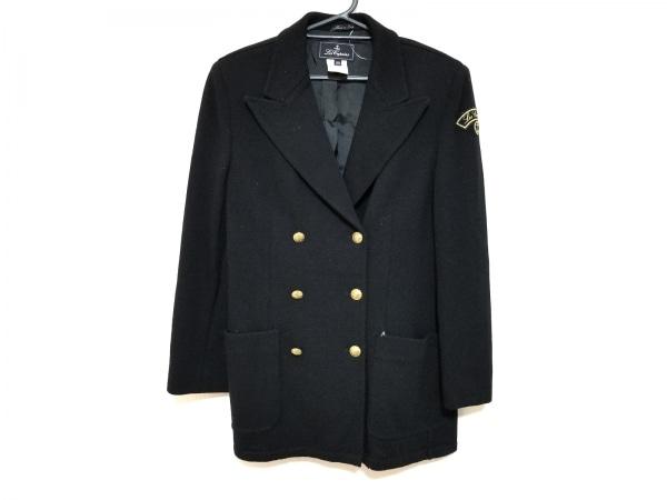 LesCopains(レコパン) ジャケット サイズ44/3.M レディース美品  黒 肩パッド