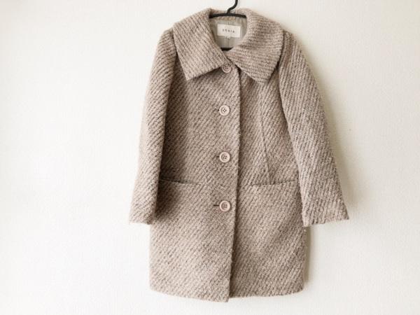 Stola.(ストラ) コート サイズ38 M レディース グレーベージュ 冬物
