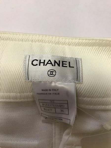 CHANEL(シャネル) 巻きスカート サイズ36 S レディース アイボリー