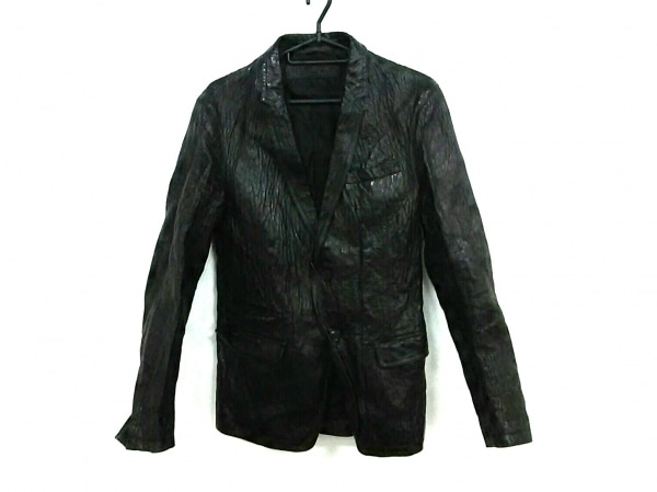 NeilBarrett(ニールバレット) ジャケット サイズXS メンズ 黒 レザー