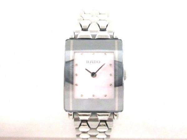 RADO(ラドー) 腕時計美品  DIASTAR 153.0488.3 レディース ピンク