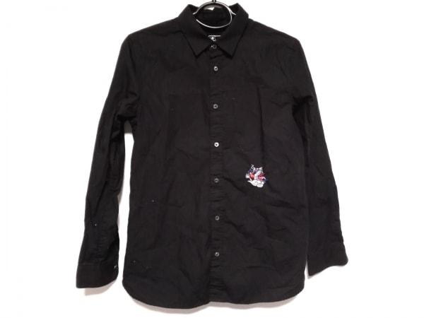 KEITA MARUYAMA(ケイタマルヤマ) 長袖シャツブラウス サイズ2 M レディース 黒 刺繍