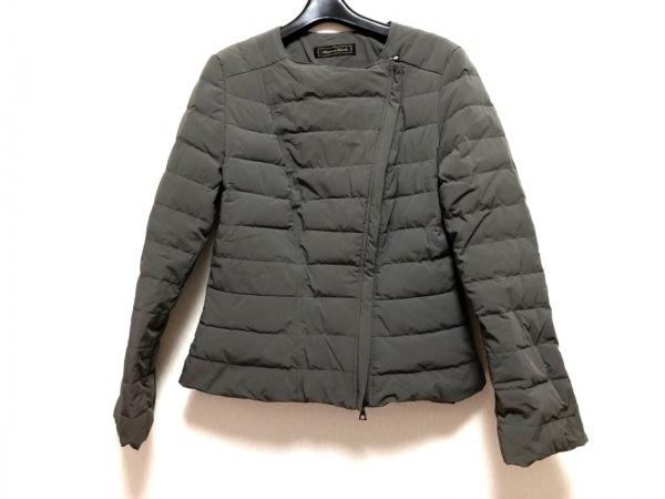 マダムヒロコ ダウンジャケット サイズ13AR M レディース美品  グレー 冬物