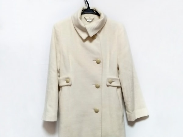 ROPE(ロペ) コート サイズ9 M レディース美品  白 冬物
