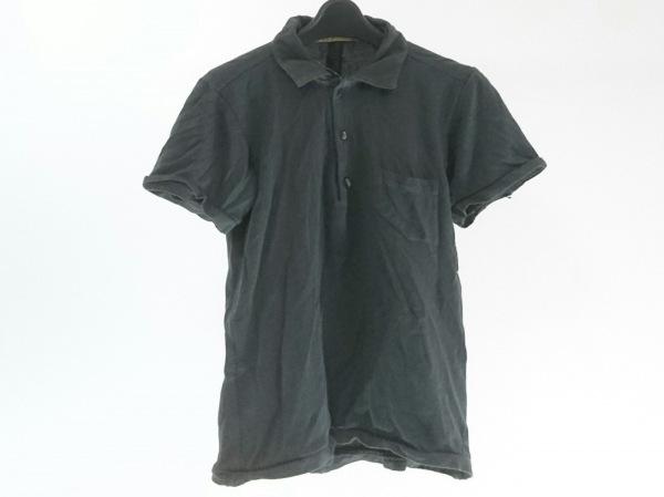 キャロルクリスチャンポエル 半袖ポロシャツ サイズ44 L メンズ ダークグレー