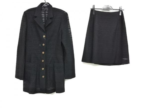 RITSUKO SHIRAHAMA(リツコシラハマ) スカートスーツ レディース美品  黒
