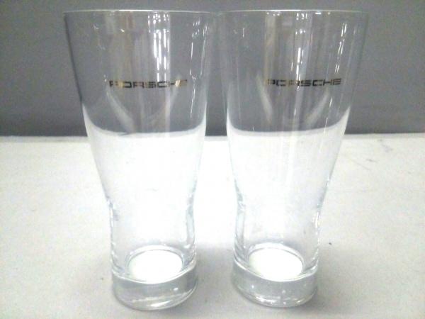 PORSCHE(ポルシェ) ペアグラス新品同様  クリア ガラス