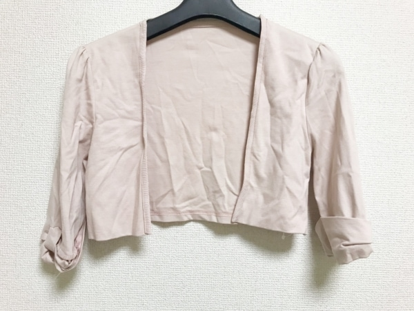 32eb0fdeff309 Tiaclasse(ティアクラッセ) ボレロ サイズM レディース美品 ピンクの古着 ...
