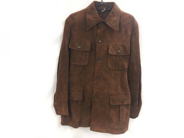 DURBAN(ダーバン) コート サイズL メンズ ブラウン 冬物/スエード