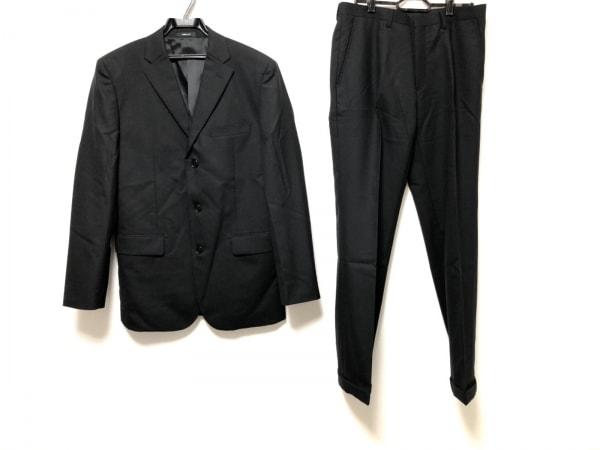COMME CA ISM(コムサイズム) シングルスーツ サイズM メンズ美品  黒