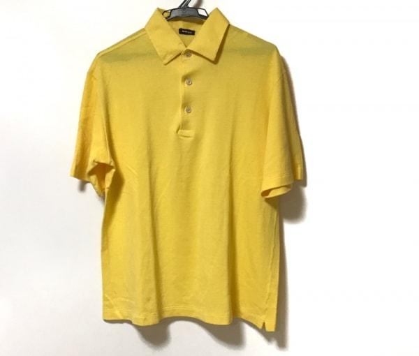 Kiton(キートン) 半袖ポロシャツ メンズ イエロー