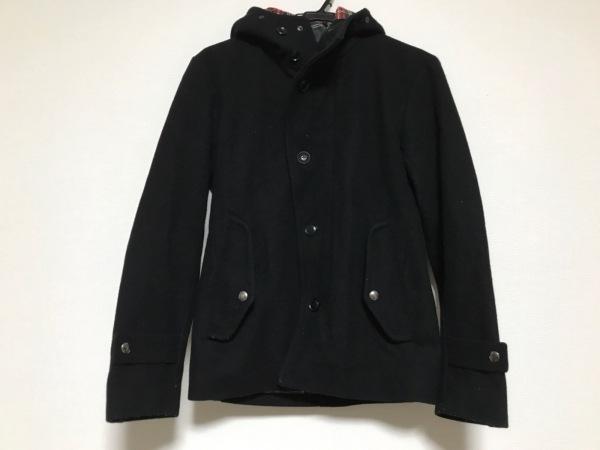 EDIFICE(エディフィス) コート サイズ38 M メンズ 黒 冬物