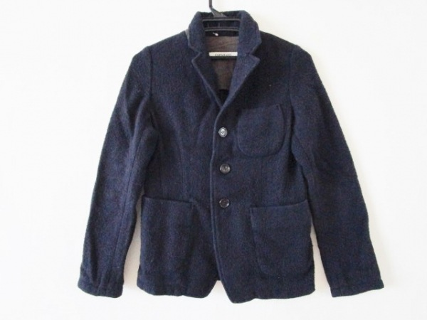 OMNIGOD(オムニゴッド) ジャケット サイズ2 M レディース ネイビー 冬物