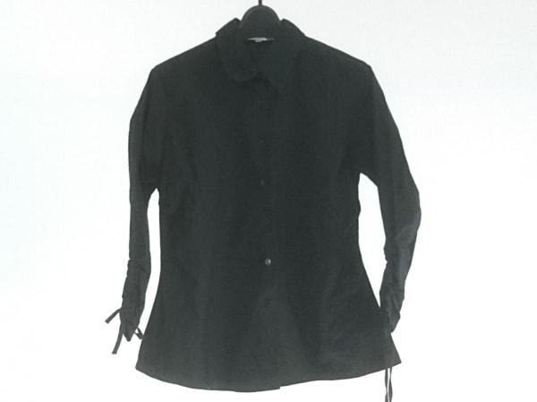 アンフォンティーヌ 長袖シャツブラウス サイズ3 L レディース美品  黒