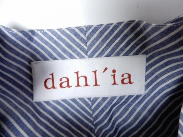 dahl'ia(ダリア) ワンピース レディース ネイビー×アイボリー ストライプ