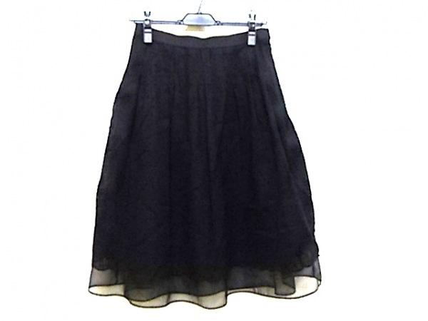 YUKITORII(ユキトリイ) スカート サイズ40 M レディース 黒