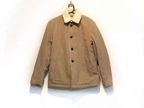 EDIFICE(エディフィス) コート サイズ46 XL メンズ ベージュ 内側ボア/冬物