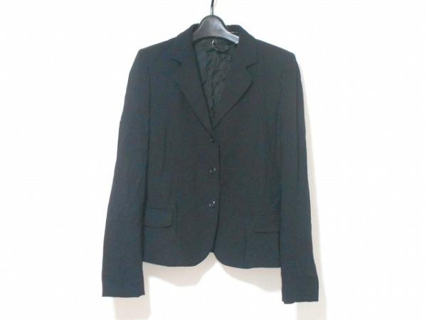 アレッサンドロデラクア ジャケット サイズ42 L レディース 黒 肩パッド