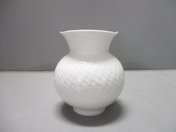 Meissen(マイセン) 小物新品同様  白 花瓶 陶器