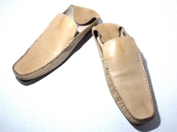 ASBee's(アスビーズ) 靴 43 メンズ ライトブラウン レザー