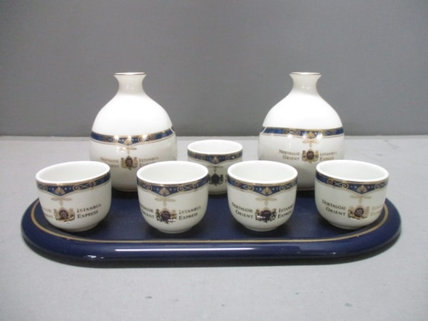 ORIENT EXPRESS(オリエントエクスプレス) 食器新品同様  白×ネイビー×ゴールド 陶器