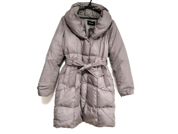 メイソングレイ ダウンコート サイズ2 M レディース グレーブラウン 冬物