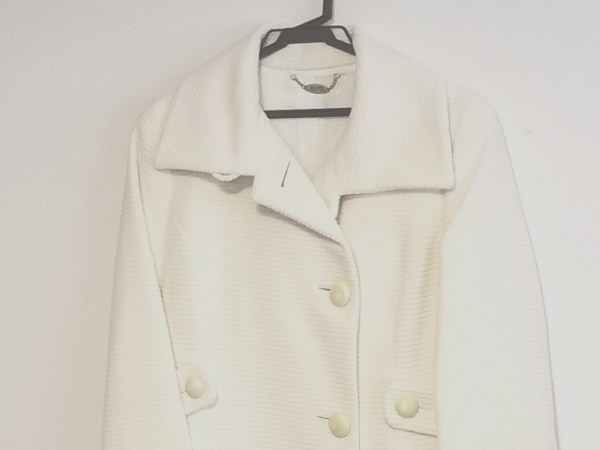 ROPE(ロペ) コート サイズ9 M レディース美品  アイボリー 冬物