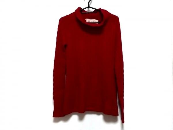 Shinzone(シンゾーン) 長袖セーター サイズF レディース美品  レッド ハイネック