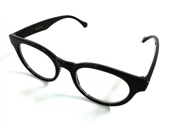 Mila Owen(ミラオーウェン) メガネ 黒×クリア プラスチック