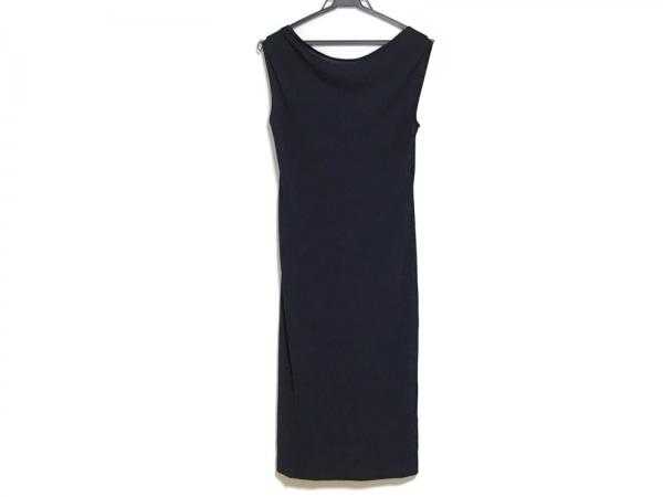 ダナキャランシグネチャー ドレス サイズS レディース ダークネイビー