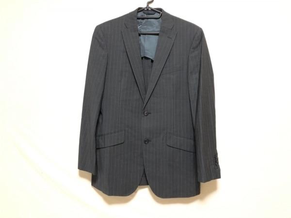 リチャードジェームス ジャケット サイズ40 M メンズ ダークグレー×ライトグレー