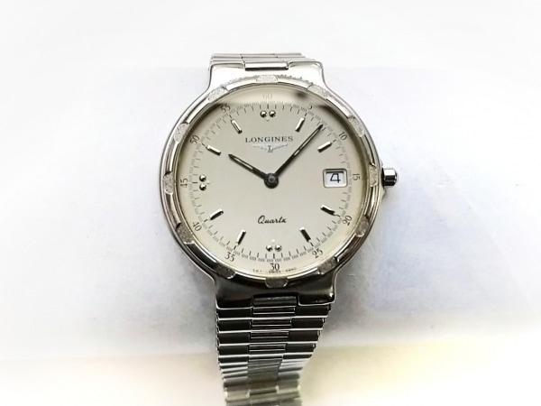 LONGINES(ロンジン) 腕時計 コンクエスト - レディース ベージュ