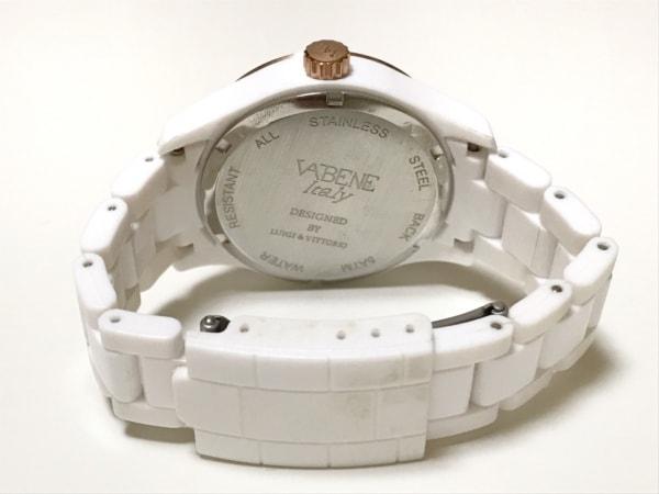 VABENE(ヴァベーネ) 腕時計美品  - レディース ラインストーンベゼル 白