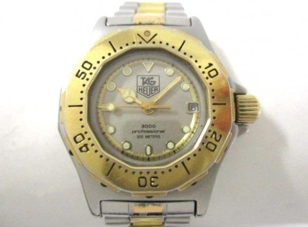タグホイヤー 腕時計 プロフェッショナル3000 934.208 レディース シルバー