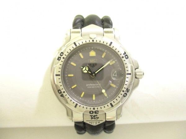 TAG Heuer(タグホイヤー) 腕時計 プロフェッショナル200 WH1212 メンズ ダークグレー