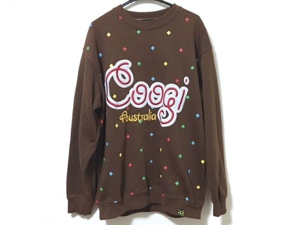 COOGI/CUGGI(クージー) トレーナー サイズXL メンズ ダークブラウン
